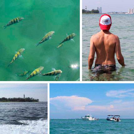 Tours y Tickets, Lancha a Cancuncito e Isla de Sacrificios