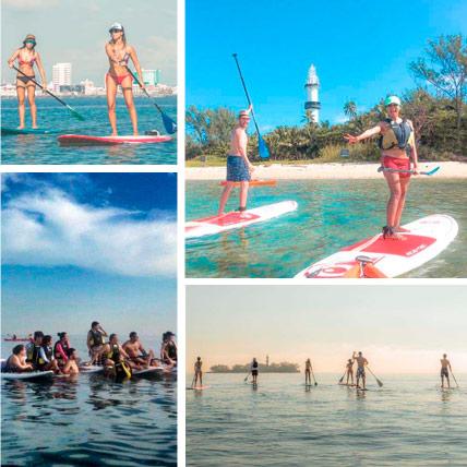 Paddle a la Isla de Sacrificios desde Boca del Río