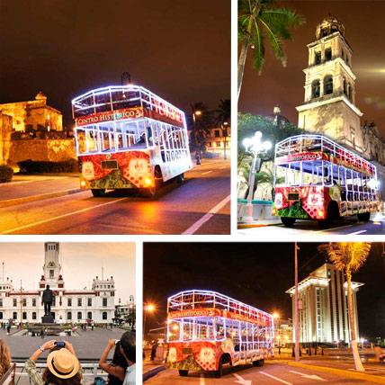 Recorrido en tranvia por el Centro Historico del Puerto de Veracruz