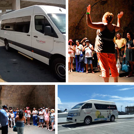 Guia de Turistas Privado en Veracruz y Boca del Río con transporte