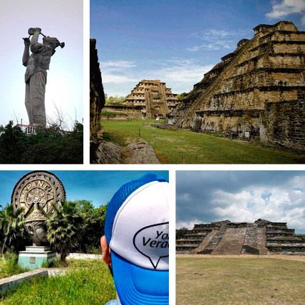 Tours a la zona arqueologica de el Tajin y el pueblo magico de Papantla desde Veracruz o Poza Rica
